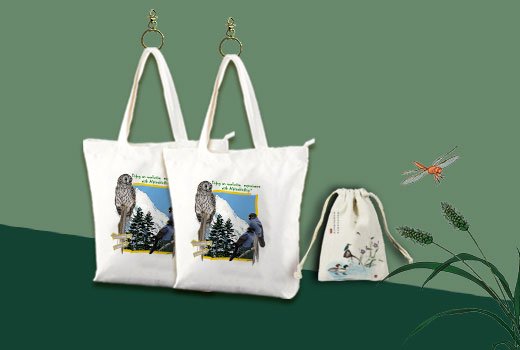 AlpineBirding's Canvas Bags